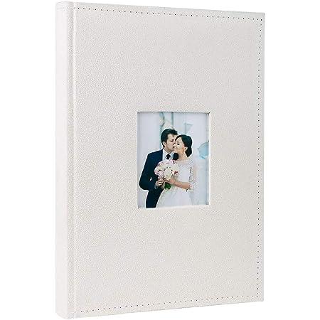 Amazon Com Bound Wedding Slip In Photo Album 300 4x6 Photos Home Kitchen