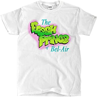 Ships-Fast Fresh Prince of Bel-air - White T-Shirt