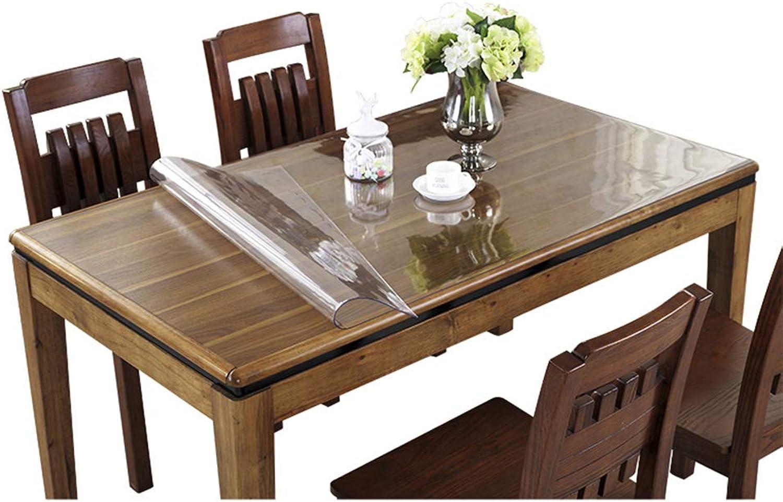 Table Basse Transparent Pvc Nappe Tapis Table 140cm