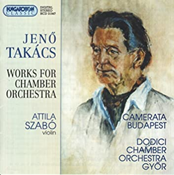 Takacs:  Postcard Greetings / American Rhapsody / Serenade / Passacaglia
