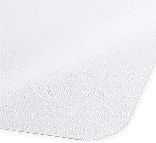 Certeo Tapis protège-Sol Neo   LXL 90 x 120 cm   PVC   pour sols durs   Transparent   Tapis de Bureau Protection Sol Chais...