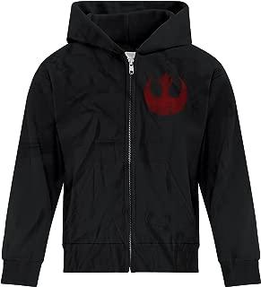 Youth Boys Star Wars Rebel Alliance Starbird Insignia Phoenix Zip Hoodie