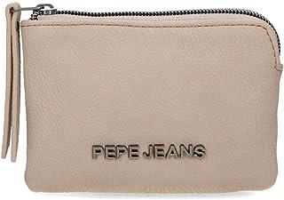 Monedero Pepe Jeans Eva Taupe, Media