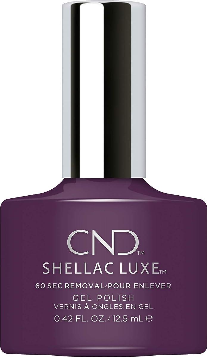 ミッション誰が標準CND Shellac Luxe - Rock Royalty - 12.5 ml / 0.42 oz