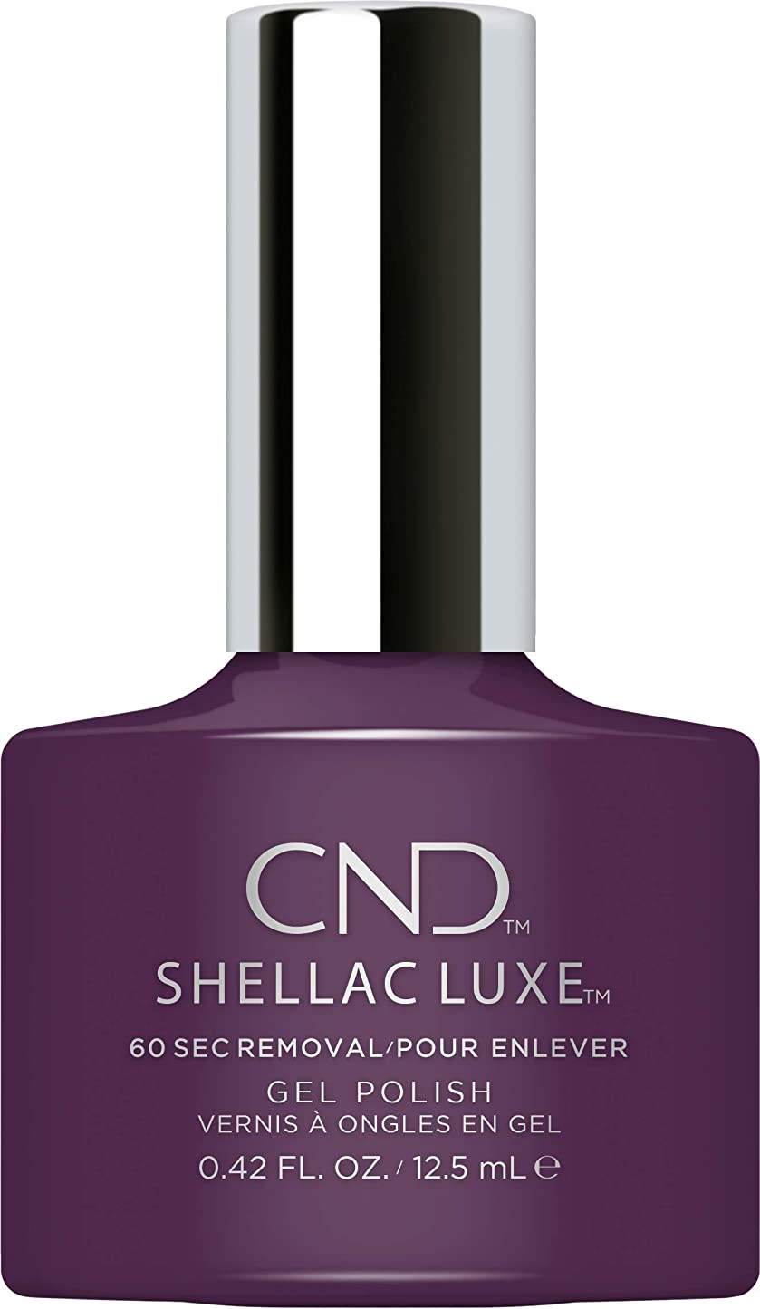 博物館テーマファブリックCND Shellac Luxe - Rock Royalty - 12.5 ml / 0.42 oz