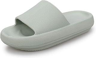 Pillow Slides Sandal for Men Home Slippers Non Slip Showers Rubber Sandal Shoes Cloud Slippers for Women