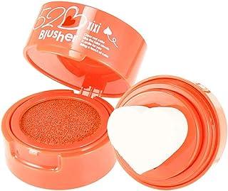 Heart Shape Blusher Palette, Long Lasting Air Cushion Seal Blush Cream