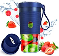 Woolili Portable Blender Smoothie Blender Protein Shaker USB Rechargeable, Juice Extractor for Milkshake and Smoothie, Per...