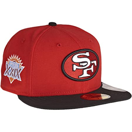 New Era 59Fifty Fitted Cap San Francisco 49ers Noir//Roug