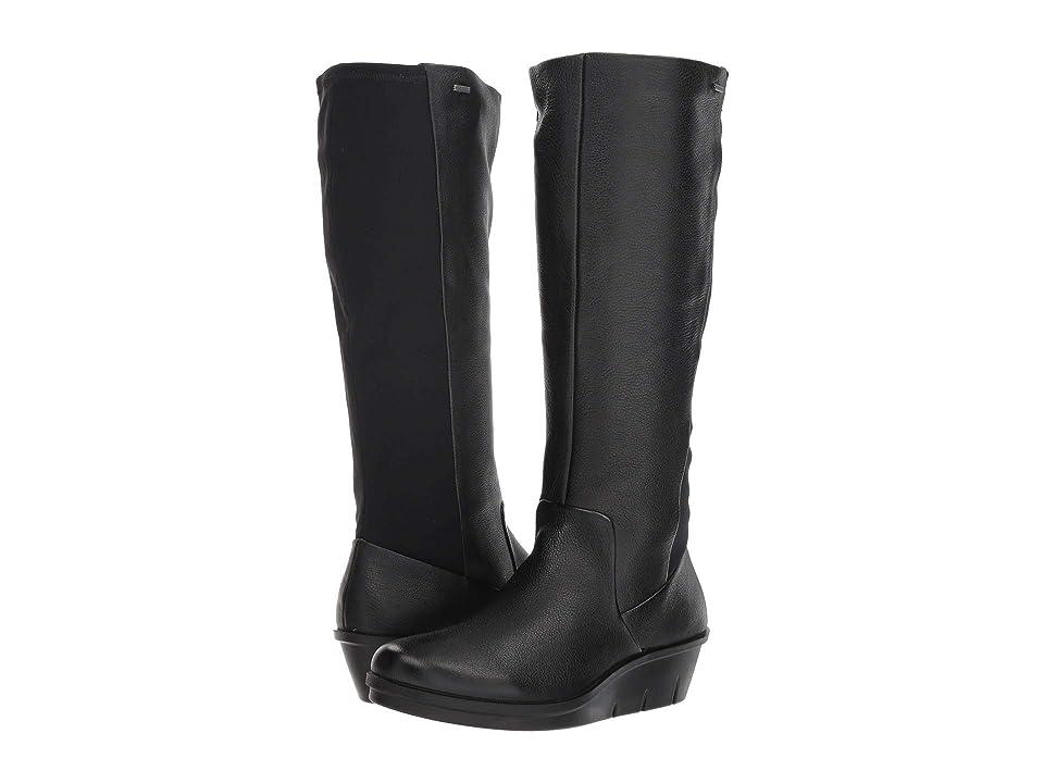 ECCO Skyler GORE-TEX(r) Tall Boot (Black/Black) Women
