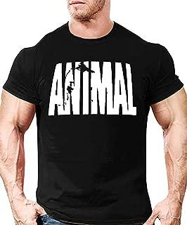 Minetom Verano Cuello Redondo Premium T-Shirt Hombre Camiseta para Hombre B/ásica De Manga Corta Fitness Sports Manga Corta Animal Imprimir tee