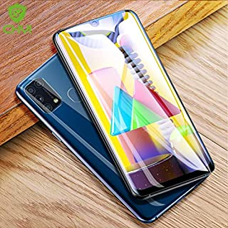 TOMMY-Phone Screen Protectors - 3D Curved Film For for Samsung Galaxy M31 Screen Protector full cover 6.4inch Hydration Fi...