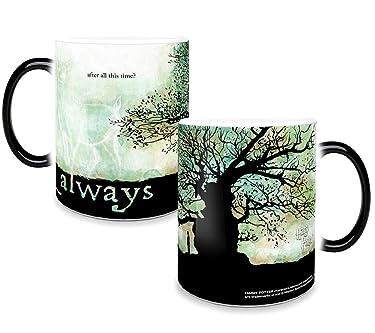 Harry Potter - Snape - After All This Time - Always - 11 oz Morphing Mugs Heat Sensitive Mug – Ceramic Color Changing Coffee Tea Mug