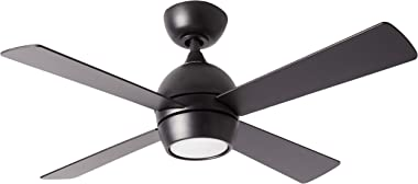 Fanimation FP7644BL Kwad 44 Ceiling Fan, Black