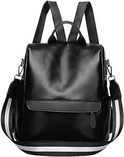 Women Backpack Bags Solid Waterproof School Handbag Tote Shoulder Bags