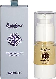 Indulgeo Essentials Eyes On Duty - Eye Gel (15 mL)   Hydrates & Brighten Under Eyes, Reduces Puffiness, Dark Circles, Dry,...