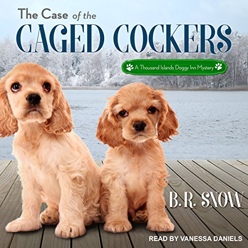 The Case of the Caged Cockers audiobook cover art
