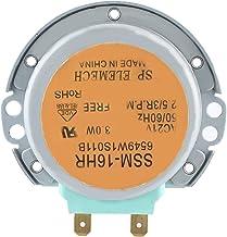 Cikonielf Horno de microondas Motor Giratorio de Aluminio Apto para Cocina Horno de microondas Serie SSM ‑ 16HR 6549W1S011B AC 21V