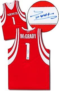 Tracy McGrady Houston Rockets Autographed Custom Basketball Jersey