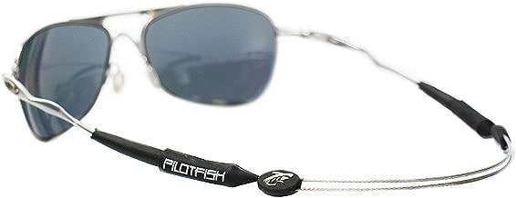 Pilotfish No Tail Adjustable Eyewear Retainer - Sunglass Holder Strap - Sunglasses Retainer
