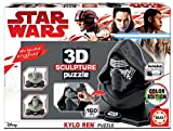 Educa - Star Wars-Kylo REN 3D Sculpture Puzzle, Multicolor (17802)