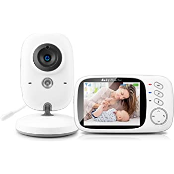 GHB Babyphone 3,2 in Smart Baby Monitor avec TFT LCD écran nachtsichtkamer