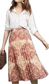 Anthropologie Luna Printed-Pleated Skirt by Akemi+Kin - NWT
