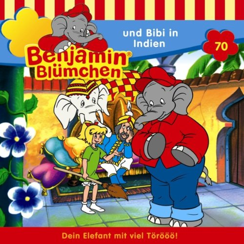 Benjamin und Bibi in Indien cover art