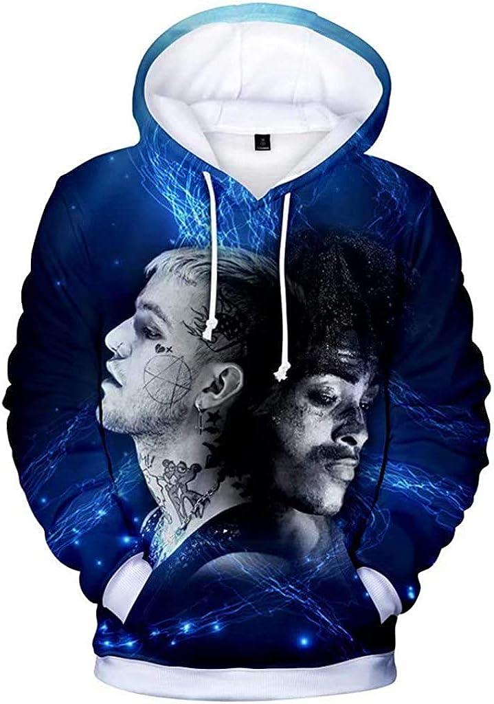 Lil Peep Rapper 3D Hoodie Love Printed Fashion Sport Hip Hop Sweatshirt Pocket Pullover Tops