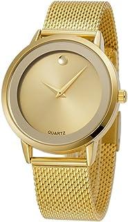 Reloj Women Relojes De Mujer En Oferta Moda Ultra Thin Relojes Quartz Stainless Steel Band RE0071