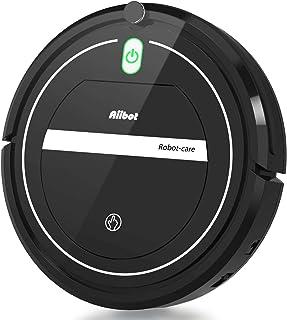 Aiibot Aspirateur Robot Slim Machine de Nettoyage à Aspiration Puissante, Efficace sur..