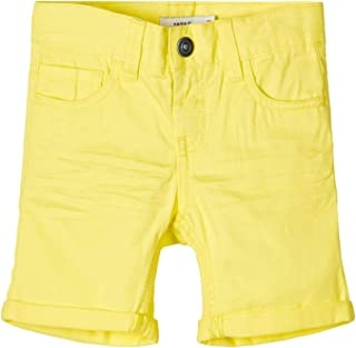 NAME IT Nmmsofus Twiisak Long Short Camp Pantalones Cortos para Niños