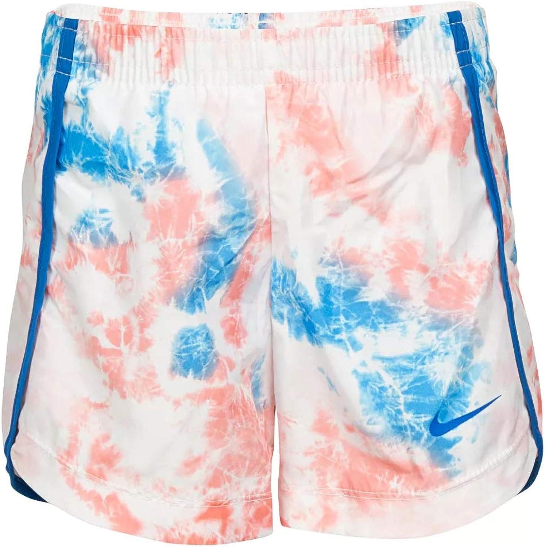 Nike Girl`s Tie Dye Dri Fit Running Shorts