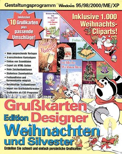 Grußkartendesigner Weihnachten & Silvester