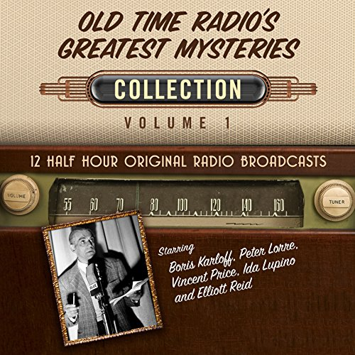 Old Time Radio's Greatest Mysteries, Collection 1 audiobook cover art