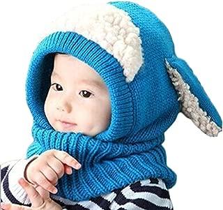 Unisex Baby Toddle Kids Winter Hat Scarf Earflap Hood Scarves Skull Caps