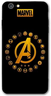 iPhone 6CaseiPhone6sCase,Comics Anti-ScratchUltra-ThinMobilePhoneShellCustomforiPhone6/6sOnly4.7inches (A-Avengers)