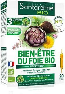 Santarome Bio - Bien-Être du Foie Bio | Complément Alimentaire Foie et Digestion - A base d'Artichaut et Radis Noir | 20 A...