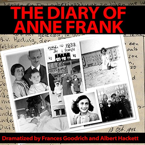 The Diary of Anne Frank (Dramatized) audiobook cover art