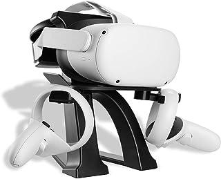 NEWZEROL 1 Set VR Stand Compatible pour Oculus Quest 2,Oculus Quest,Oculus Rift, Oculus Rift S, Valve Index, HTC VIVE, HTC...
