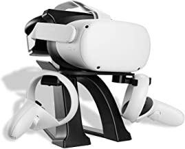 NEWZEROL 1 Set VR Stand Compatibile per Oculus Quest,Oculus Quest 2, Oculus Rift, Oculus Rift S, Valve Index, HTC Vive, HT...