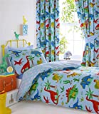Homemaker Blue dinosaur duvet sets boys bedding and quilt covers