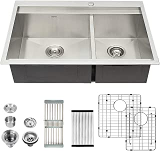 Best farm style stainless steel kitchen sink Reviews