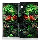 wicostar Wallet Book Style Flip Handy Tasche Hülle Schutz Hülle Schale Motiv Etui für LG L Bello 2 - Flip UMH13 Design10
