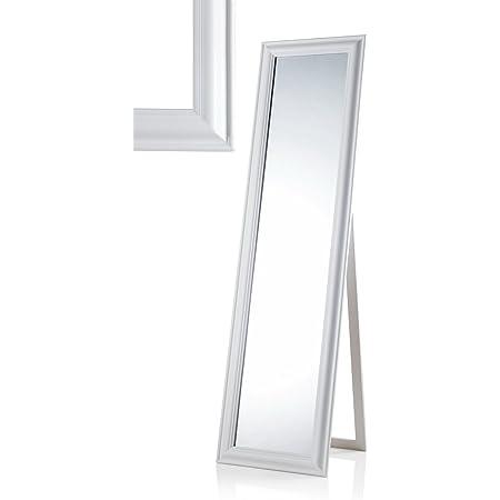 2,5 GICOS IMPORT EXPORT SRL Specchio Rettangolare da Pavimento Struttura in Legno Colore Nero 33 150 cm TCO-785894