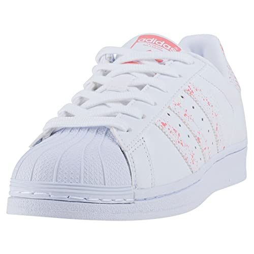adidas Damen Superstar W Sneaker, Silber bad9185e46