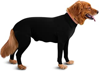 Shed Defender - Dog Onesie/Grooming -Contains The Shedding of Dog Hair, Reduce Anxiety, Replace Medical Cone