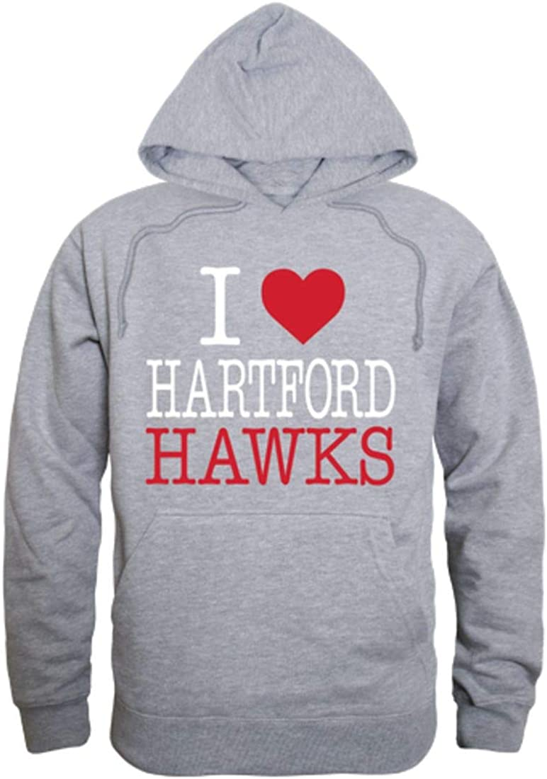 I Love University of Sweatshirt Popular products Hoodie Direct stock discount Hawks Hartford