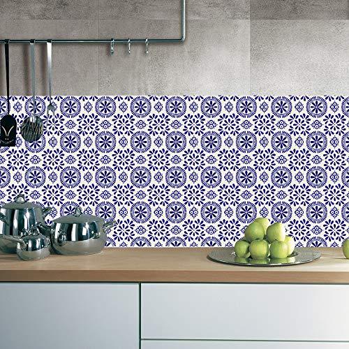 XOSHX 40 stuks x 10 cm x 10 cm stickers voor tegels, woonkamer, slaapkamer, keuken, badkamer, wandsticker, waterdicht, oliebestendig