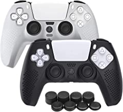 PS5 Controller Cover Case, Anti-Slip Silicone Skin Protective Cover Case for Playstation 5 DualSense Wireless Controller w...